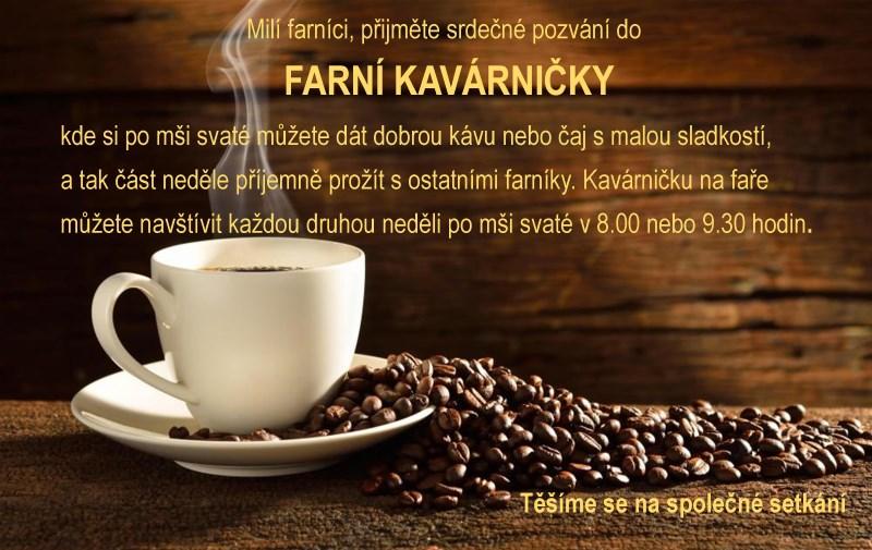 Farní kavárna plakát